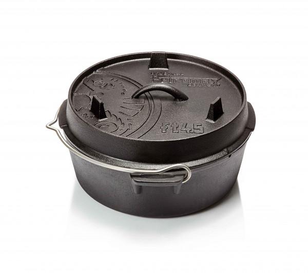Petromax Feuertopf ft4.5 ohne Füße Dutch Oven gusseiserne Originalqualität