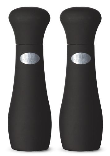 Weber Style Salz- & Pfeffermühle, 19 cm, schwarz