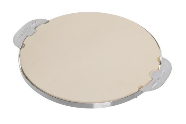 Outdoorchef Pizzastein 420/480 rund mit Griffen Ø32,5 cm