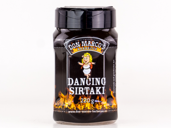 Don Marco´s Dancing Sirtaki Barbecue Rub