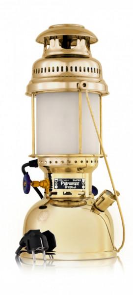 Petromax Elektroleuchte Tischleuchte HK500/829 Messing