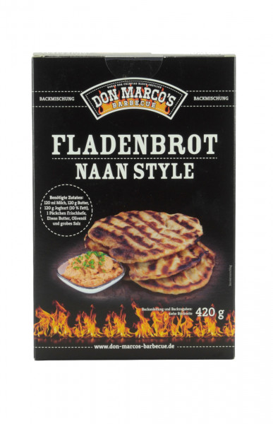 Don Marco's Backmischung Fladenbrot Naan Style 420g