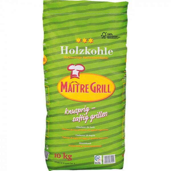 Schönbucher KOHLEN-UNION Holzkohlen 10 kg Maitre-Grill