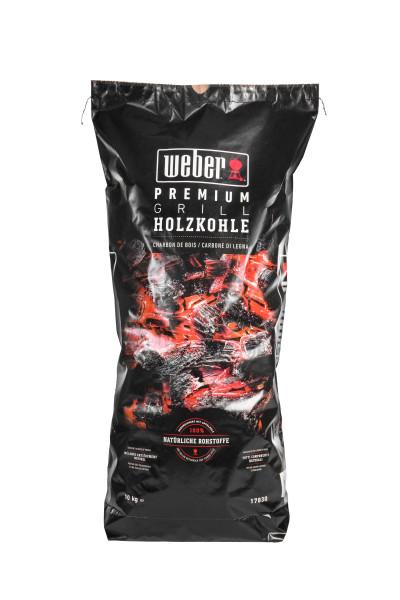 Weber Premium Holzkohle - 10 kg