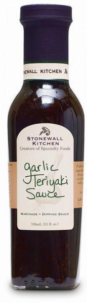 Stonewall Kitchen Garlic Teriyaki Sauce Marinade für den Grill aus den USA, für Chicken Teriyaki