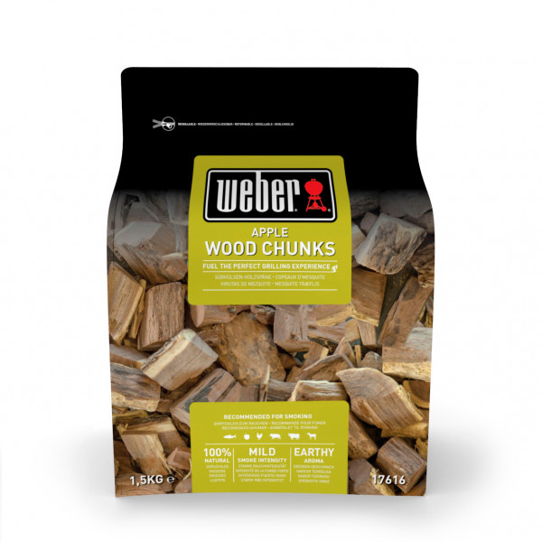 Weber Wood Chunks - Fire spice Holzstücke aus Apfelholz