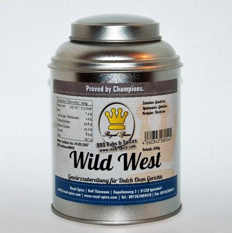 Royal Spice Gewürzzubereitung Wild West Dutch Oven Gewürz
