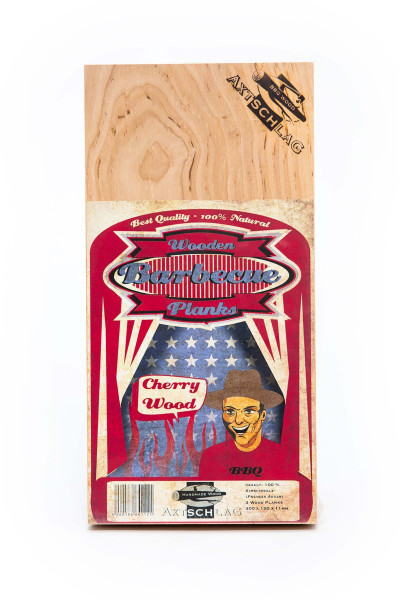 AXTSCHLAG Wood Planks Cherry, 3er-Set, 300x150x11 mm