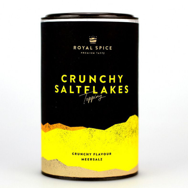 Royal Spice Crunchy Saltflakes Topping, 100g Dose