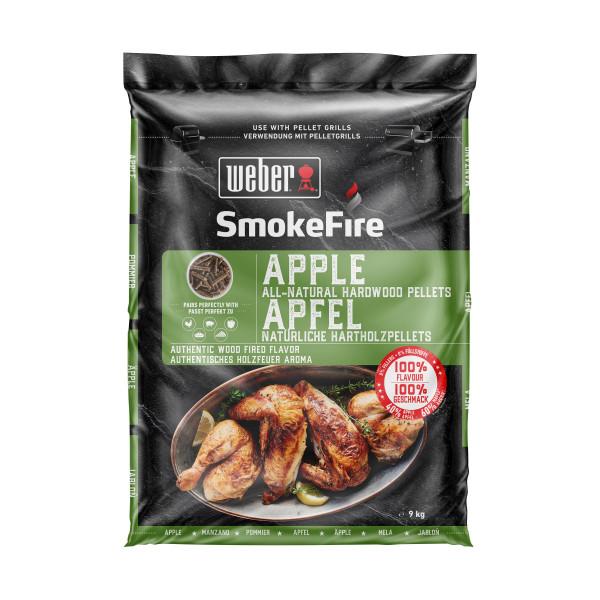Weber SmokeFire 100% natürliche Holzpellets - Apfelholz