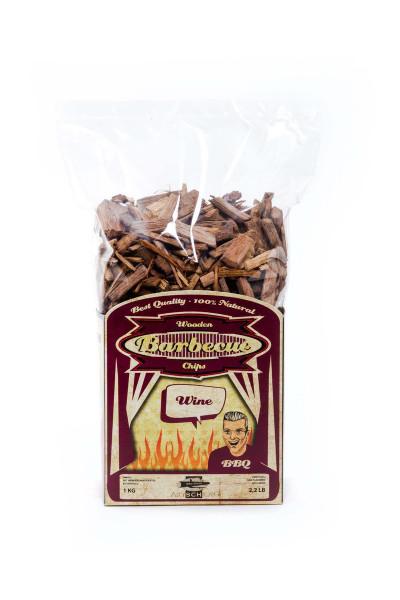 Axtschlag Wood Smoking / Räucher Chips Rotwein 1kg kaufen