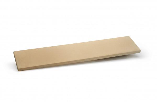 Napoleon Pizzastein groß für Grill für Warmhalterost, rechteckig aus Cordierit-Keramik