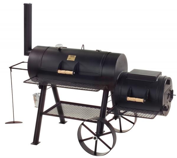 """Joe´s 16"""" Longhorn Barbecue XXL-Smoker, lange Version mit großer Grillfäche kaufen"""