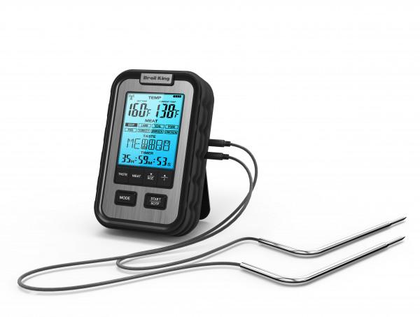 Broil King Seitenablagen Multi Grill-Thermometer für BBQ, Braten & Fleisch