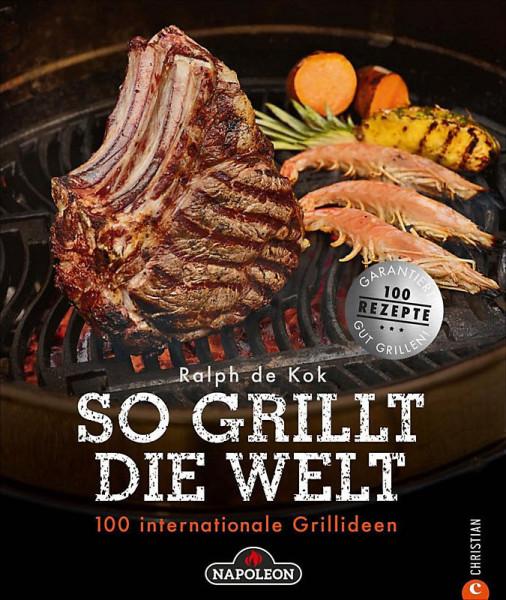 """NAPOLEON® Grillbuch """"So grillt die Welt"""""""
