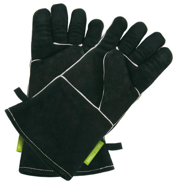 Outdoorchef Lederhandschuhe schwarz für den Grill / Grillhandschuhe kaufen