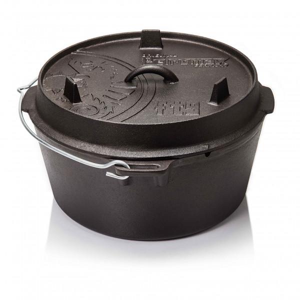 Petromax Feuertopf ft9-t ohne Füße Dutch Oven Gusseisen - Braten und Fleisch grillen