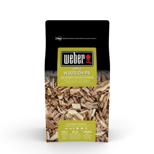 Original Weber Räucherchips Apfel Holz für den Grill kaufen 700g