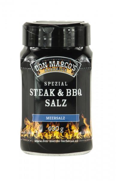 Don Marco´s Spezial Steak & BBQ Salz ''Meersalz'' 400g