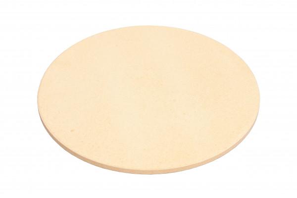Monolith LeCHEF - Pizzastein rund groß verwandelt den Grill in einen Steinofen