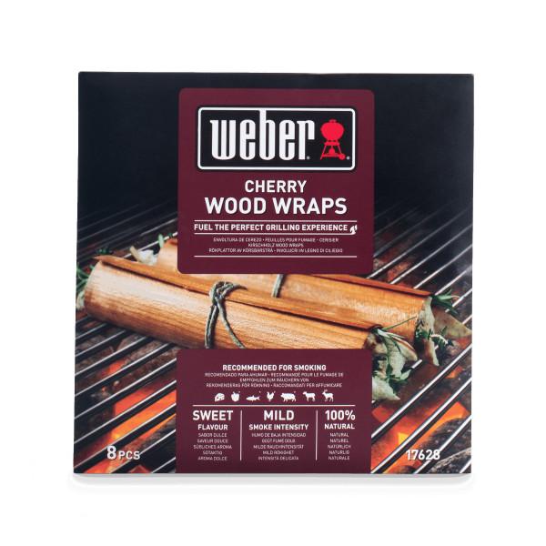 Weber Wood Wraps aus Kirschholz - 8 Stück