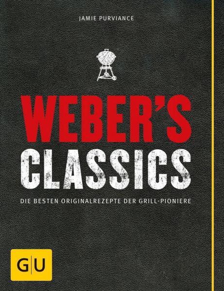 """WEBER Grillbuch Weber's Classics Deutschland"""" Art.-Nr. 37784"""""""