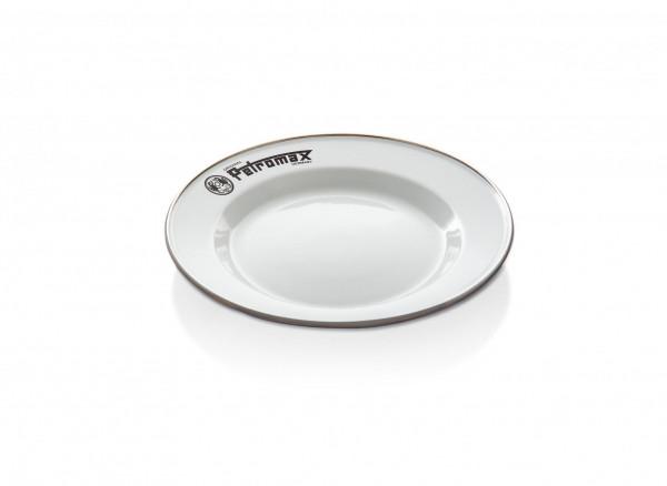 Petromax Emaille Teller weiß 2 Stück