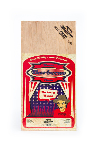 Axtschlag - Wood Plank - Hickory Wood - 3er Pack