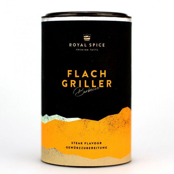 Royal Spice Flachgriller Gewürzzubereitung, 120g Dose