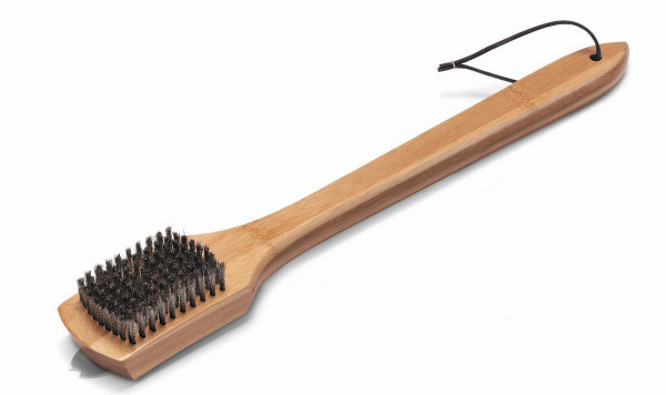 WEBER Grillbürste mit Bambus-Holzgriff, 46 cm