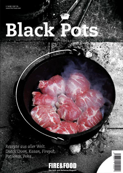 Fire&Food Bookazine No.2 - Black Pots