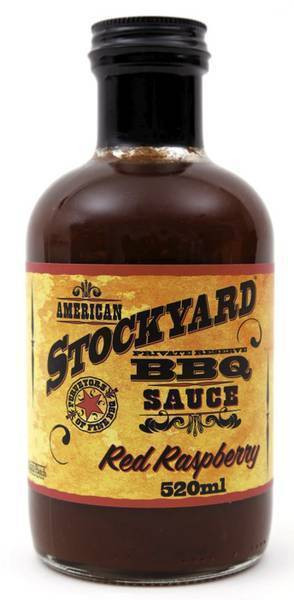 "CMC Sauce Stockyard Red Raspberry"" klein 350 ml"""