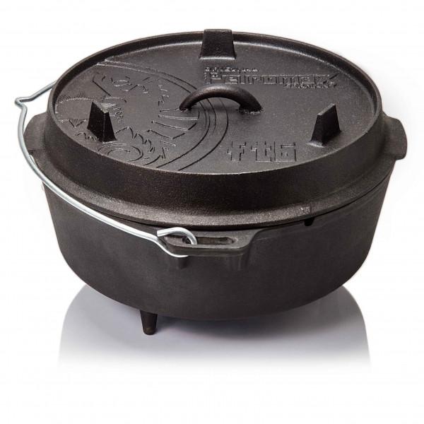 Petromax Feuertopf Mittelgroß ft6 Dutch Oven mit Füßen