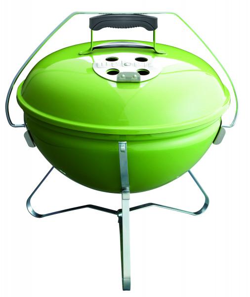 Holzkohlegrill Weber Smokey Joe Premium, Spring Green Front