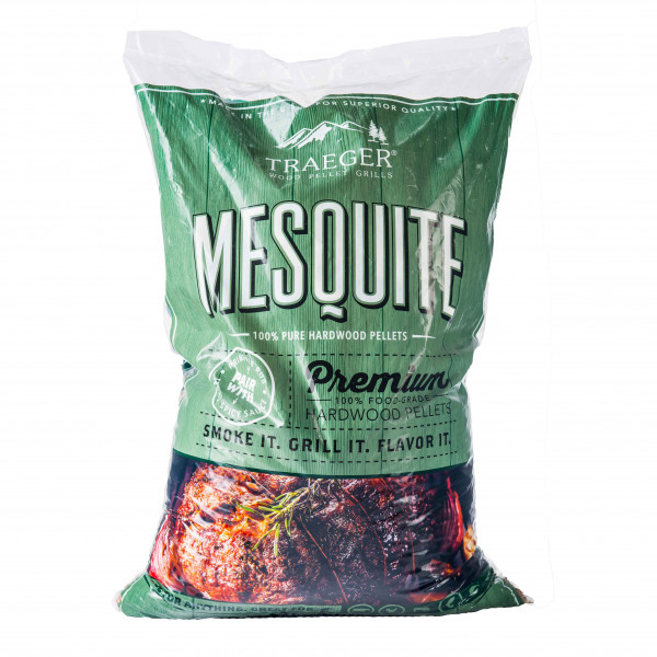 Traeger Hartholz Pellets Mesquite, 9 kg Beutel