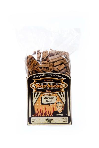 Axtschlag Räucherchips Bier Eichenholz 1kg für Grill & Smoker kaufen