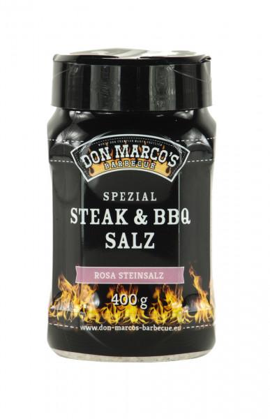 Don Marco's Spezial Steak & BBQ Salz ''Rosa Steinsalz'' 400g