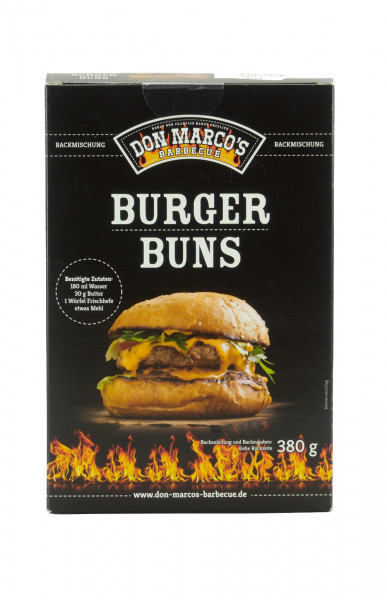 Don Marco's Backmischung Burger Buns 380g