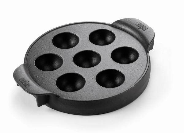 WEBER Gourmet BBQ System Ebelskiver Einsatz, ohne Grillrost