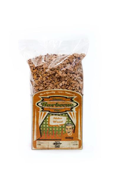 Axtschlag Wood Smoking Chips Erle 1kg im BBQ24 Grillzubehör Shop kaufen